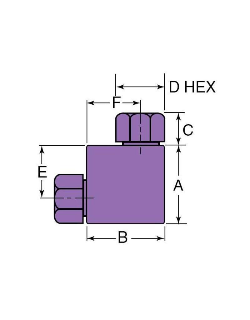 Autoclave HP Elbow