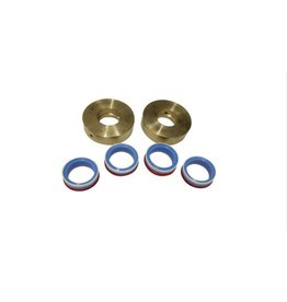 Flow Style High Pressure Seal Kit With Brass Rings 60K