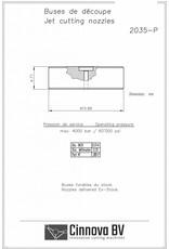 "OMAX Style Orifice Sapphire M-Jet 5, Ø 0,014"""