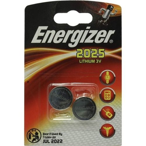Energizer CR2025 3V 2-pack