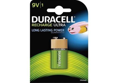 Duracell Rechargeable NimH 9V/HR22 170mAh blister 1