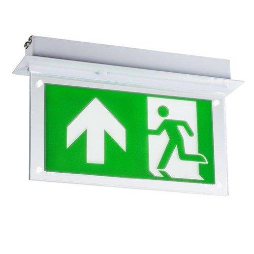 LED Inbouw Noodverlichting met Plexiglas Plaat