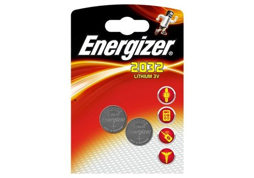 Energizer CR2032 3V 2-pack