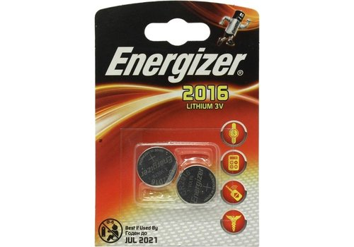Energizer CR2016 3V 2-pack
