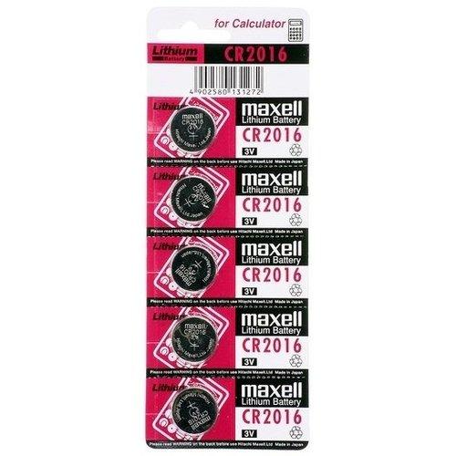 Maxell CR2016 3V 5-pack