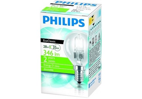 Philips 28W E14 EcoClassic Kogel