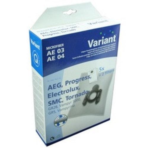 Variant AEG AE03 + AE04