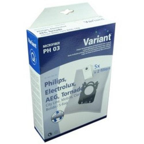 Variant Philips PH03 S-bag Mobilo (5) 2xF