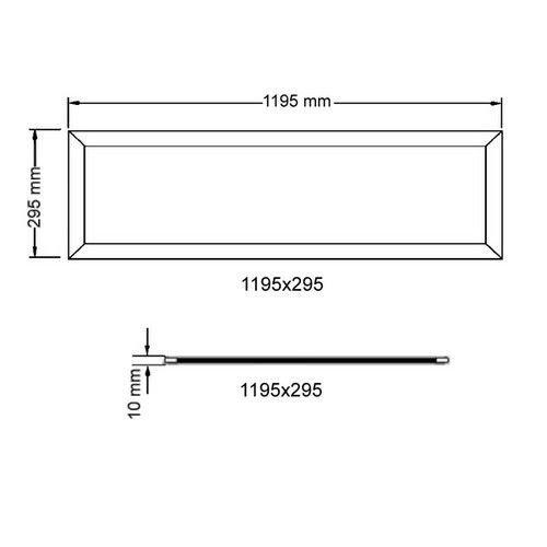 LED Panelen 30x120