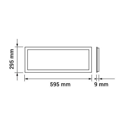 LED Panelen 30x60