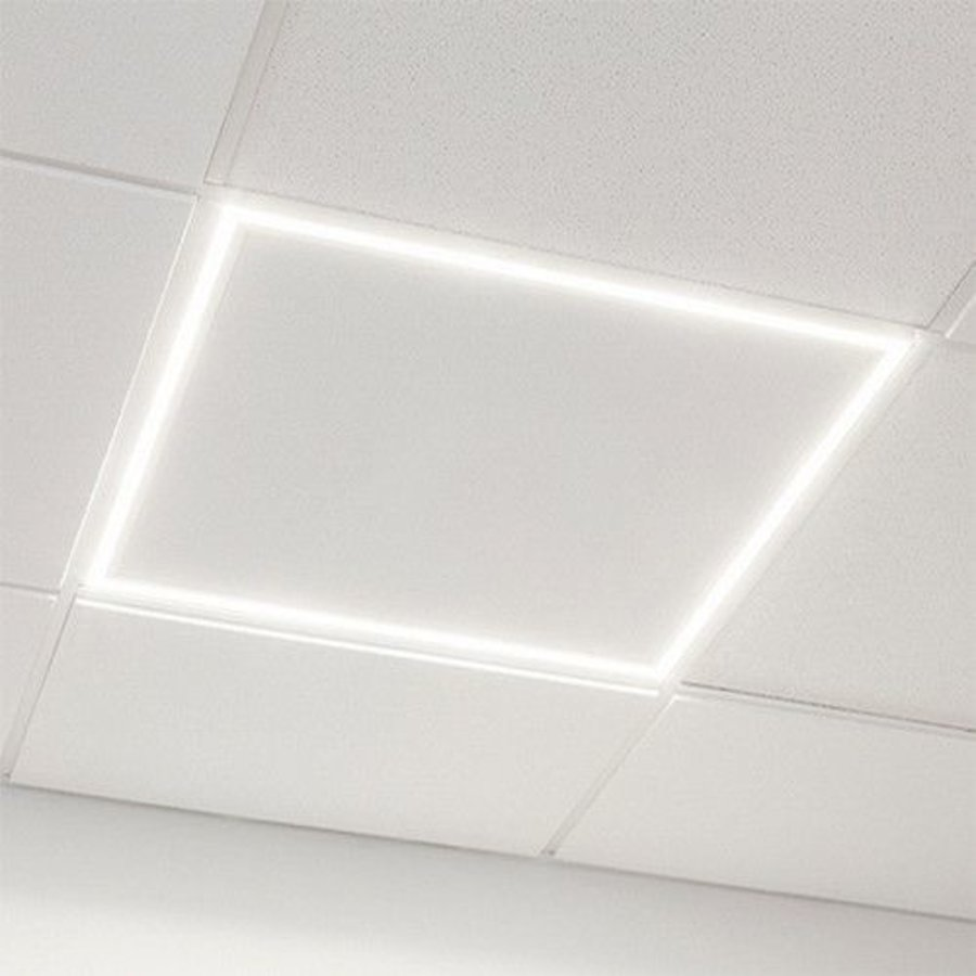 EDGE LED panel 37W 3000K 3145Lm >85Lm/w 595x595mm PF>0,95 CRI>80 AGT flash free driver IP20