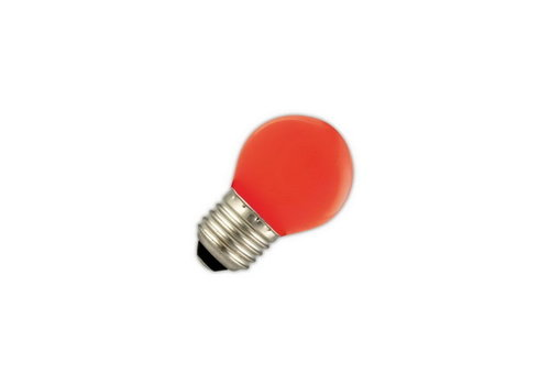 GLOW LED PARTYLIGHTS KOGEL 1W E27 ROOD