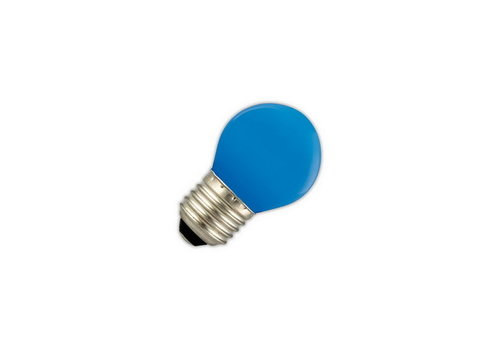 GLOW LED PARTYLIGHTS KOGEL 1W E27 BLAUW