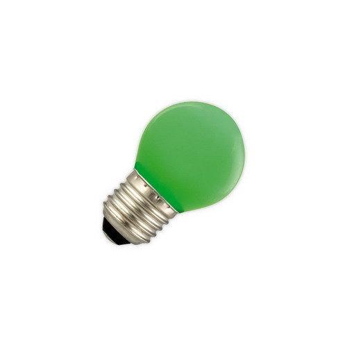 GLOW LED PARTYLIGHTS KOGEL 1W E27 GROEN