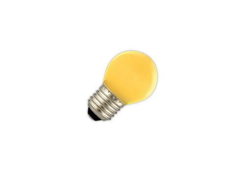 GLOW LED PARTYLIGHTS KOGEL 1W E27 GEEL
