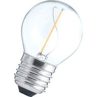 LED filament kogel E27  1W 2700K 110Lumen