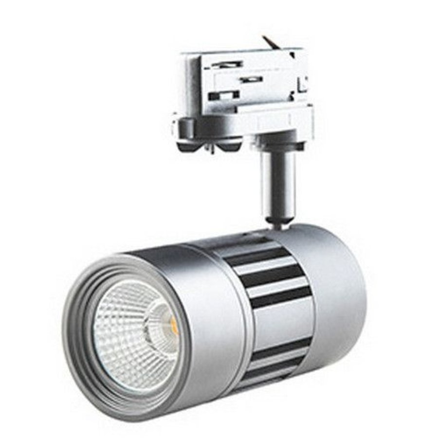 LED ColourPunch spot zilver 7,5W 36gr Reflector 3.000K CRI>90