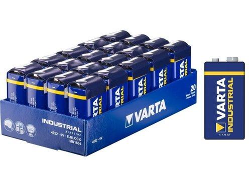Varta Industrial 9V 4022