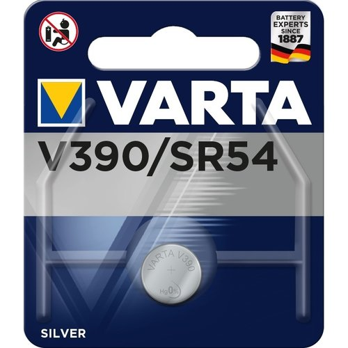 Varta Silver Oxide 390 (1130SW) blister 1
