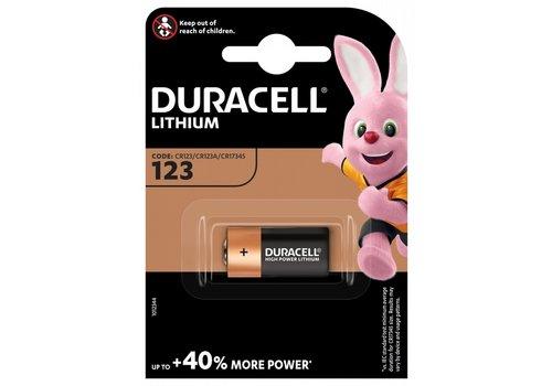Duracell Lithium CR123 3V blister 1