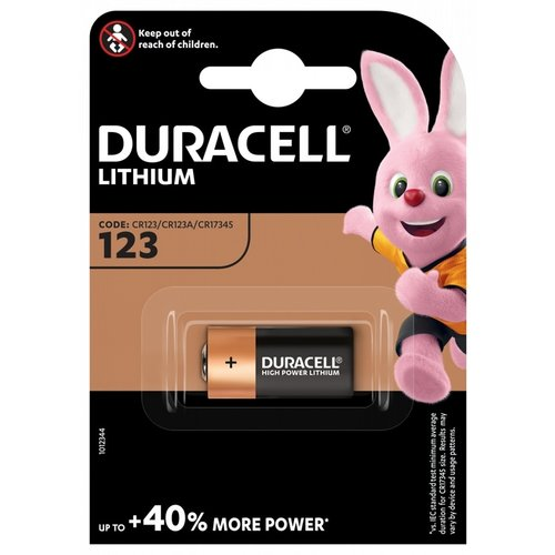 Duracell Ultra 123 3V Lithium