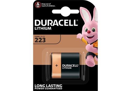 Duracell Lithium DL223/CR-P2P 6V blister 1