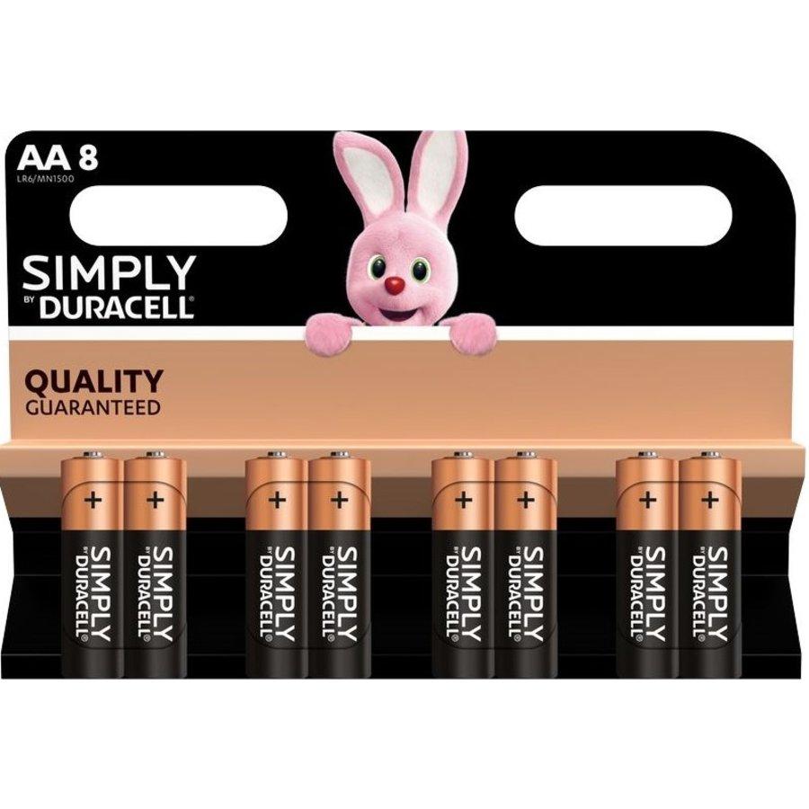 Simply/Basic AA/LR06 blister 8-1