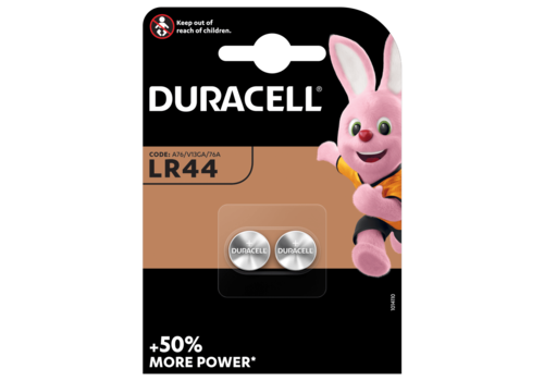 Duracell 1.5V LR44 2-pack