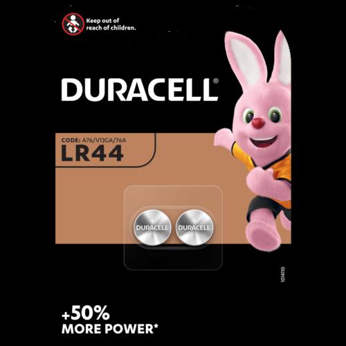Duracell Alkaline LR44  1.5V blister 2