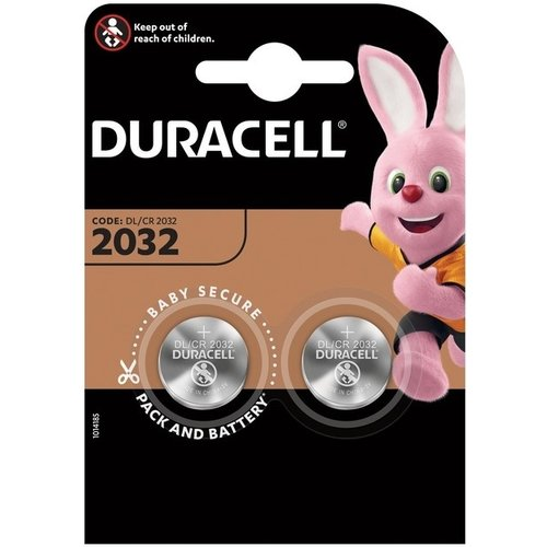 Duracell Lithium CR2032 3V blister 2