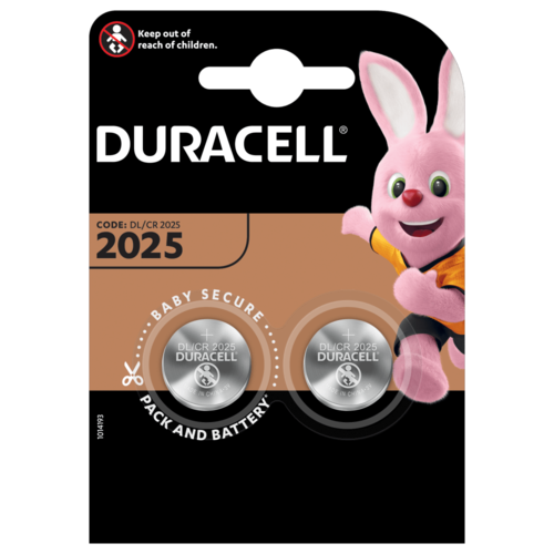 Duracell DL2025 3V 2-pack