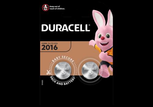 Duracell Lithium CR2016 3V blister 2