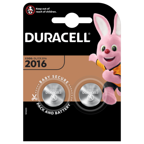 Duracell DL2016 3V 2-pack