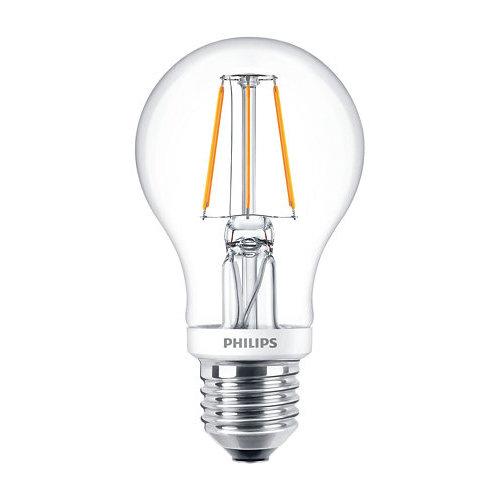 Philips Classic LEDBulb 5,5W-40W E27 A60 827 CL Dimbaar