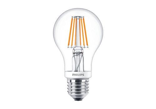 Philips Classic LEDBulb 8W-60W E27 A60 827 CL Dimbaar