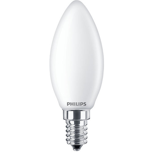 Philips Classic LEDCandle 2.2W-25W B35 E14 827 FR ND