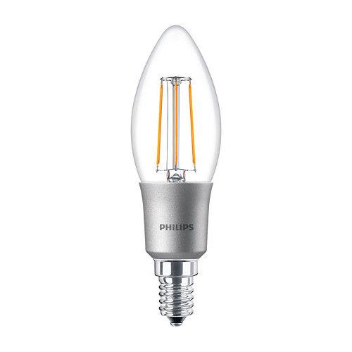 Philips Classic LEDCandle 5W-40W E14 B35 827 CL Dimbaar