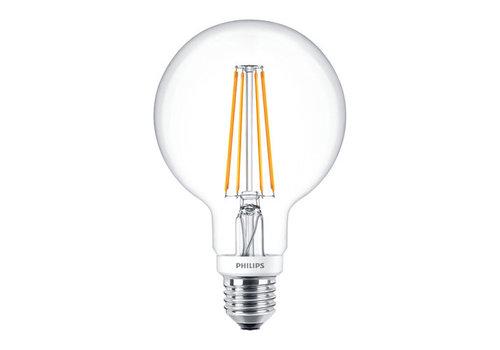 Philips Classic LEDGlobe 8W-60W E27 G93 827 CL Dimbaar