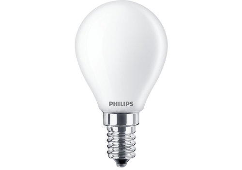 Philips Classic LEDLuster 4.3W-40W P45 E14 827 FR ND
