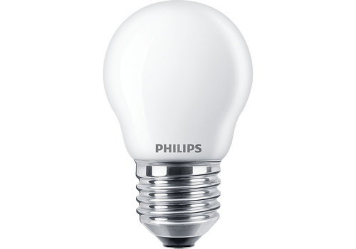 Philips Classic LEDLuster 4.3W-40W P45 E27 827 FR ND