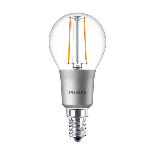 Philips Classic LEDLuster 5W-40W E14 P45 827 CL Dimbaar