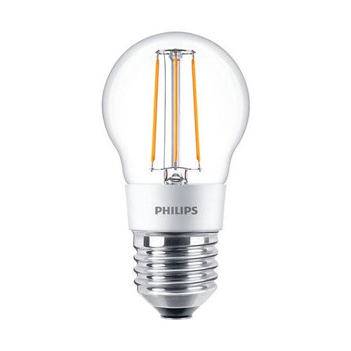 Philips Classic LEDLuster 5W-40W E27 P45 827 CL Dimbaar