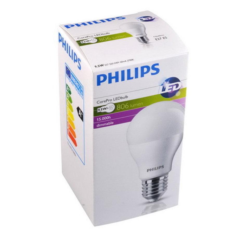 CorePro LEDBulb 8.5W-60W E27 A60 827 FR Dimbaar