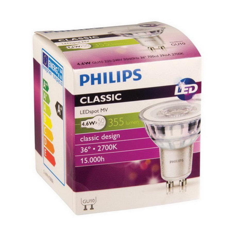 CorePro LEDSpot Glas 4,6W-50W GU10 827 36D ND