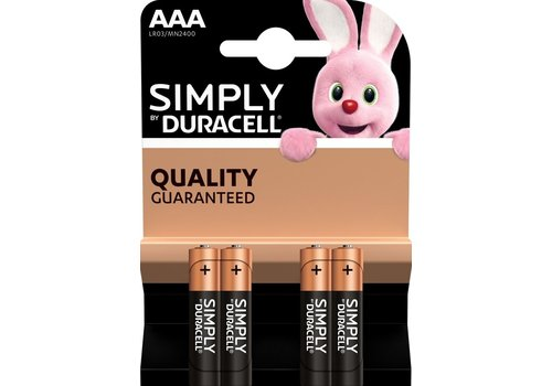 Duracell Simply AAA/LR03 blister 4