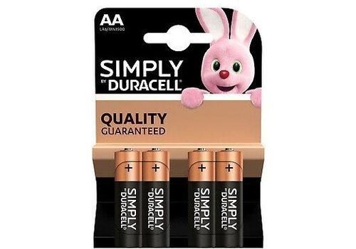 Duracell Simply AA/LR06 blister 4