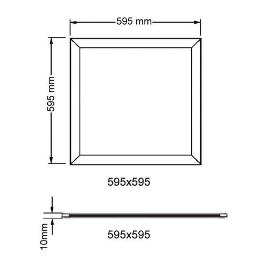 LED Paneel The Solution UGR19 32W  3800lm 600x600mm-2