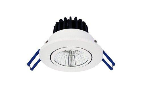 The Solution LED Inbouwspot Kantelbaar Wit
