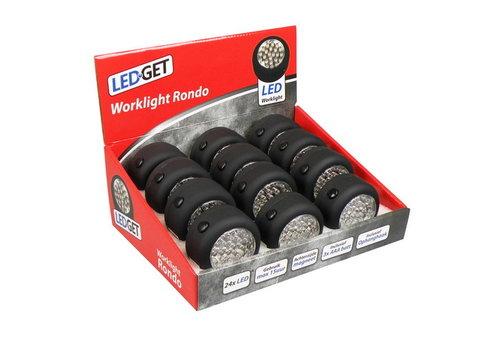 LEDGET WORKLIGHT RONDO 24LED