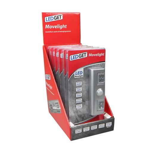 LEDGET Movelight LED incl. bewegingsmelder